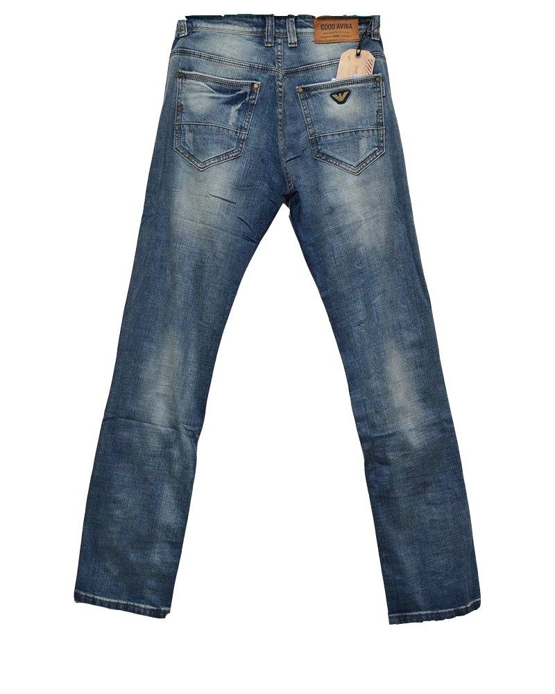 d7fd689314a Джинсы мужские GOOD AVINA синие 707 – Купить в Мега Джинс