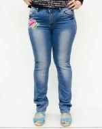 Джинсы женские LADY N голубые 0662