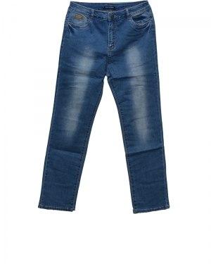 Джинсы женские LDM голубые стрейч 8720