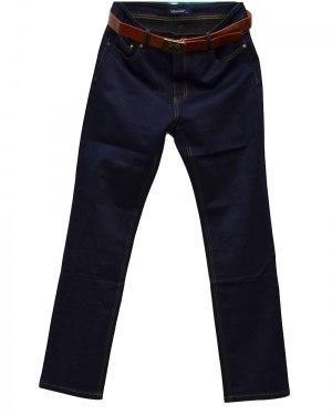 Джинсы женские VANVER синие стрейч с ремнем 8612