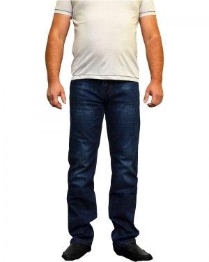 Джинсы мужские FANGSIDA синие стрейч 1020