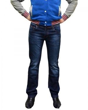Джинсы мужские LODAIDER синие стрейч 2158