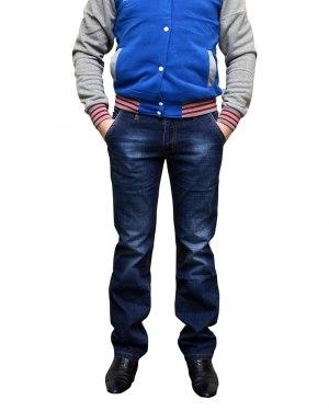 Джинсы мужские LODAIDER синие стрейч 2141
