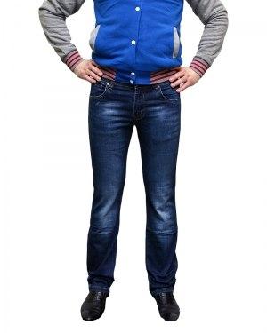Джинсы мужские LODAIDER синие стрейч 2143