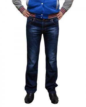 Джинсы мужские BULLPRO синие стрейч 2061