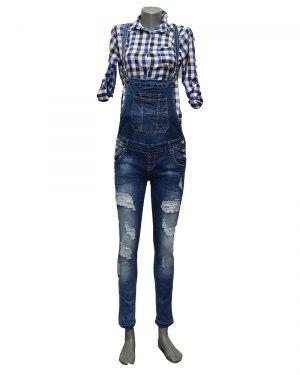 Комбинезон женский RE-DRESS синий 3856