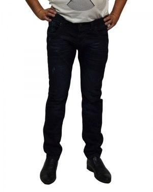 Джинсы мужские MARIO синие стрейч 2594