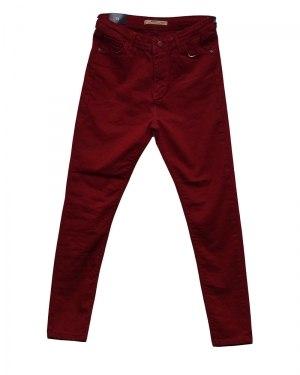Джинсы женские AROX красные 010-3