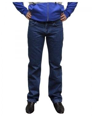 Джинсы мужские BIG COWERS голубые с синей строчкой