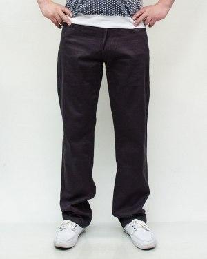 Джинсы мужские 839 коричневые 026-9-12