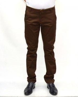 Джинсы мужские 839 коричневые 90571