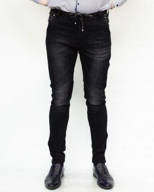Джинсы мужские AWIVGOSS черные 6332