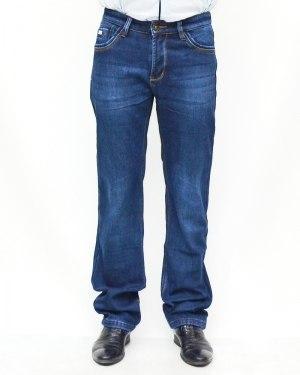 Джинсы мужские AWIVGOSS синие теплые 6052