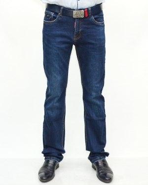 Джинсы мужские DISGOLRED синие с ремнем 9828