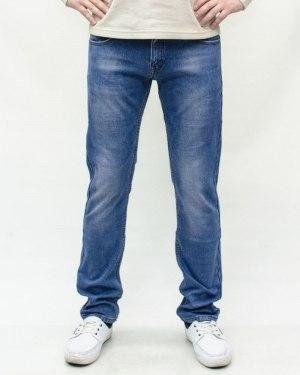 Джинсы мужские DSQATARD голубые зимние 9376