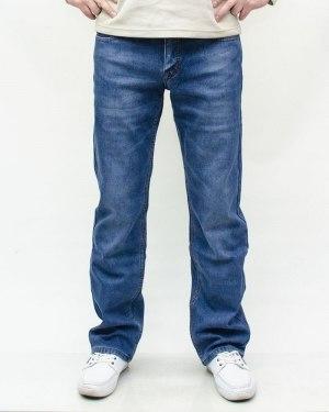 Джинсы мужские PAGALEE голубые зимние 6630