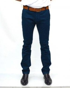 Джинсы мужские RESALSA синие с ремнем 8235-3