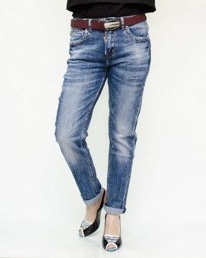 Джинсы женские DICESIL синие с ремнем 5207
