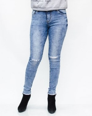 Джинсы женские GALLOP голубые 7201