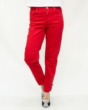 Джинсы женские IT`S BASIC 1042 красные