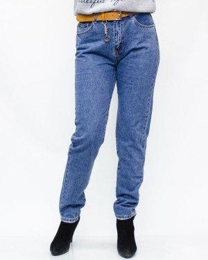 Джинсы женские LDM голубые с ремнем 9127