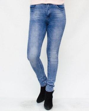 Джинсы женские MOON GIRL голубые 8997