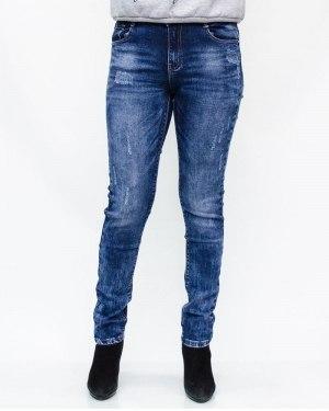 Джинсы женские MOON GIRL синие 8933
