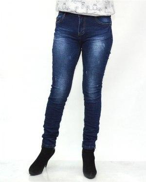 Джинсы женские MS синие 5618