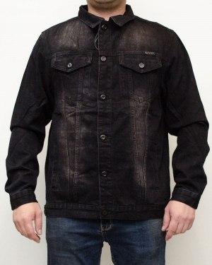 Куртка джинсовая мужская AWIVGOSS черная 002