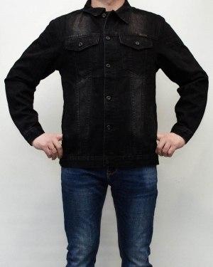 Куртка джинсовая мужская AWIVGOSS черная 016