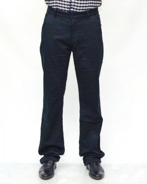 Джинсы мужские 839 синие теплые 90725