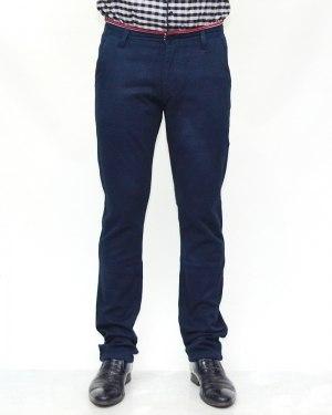 Джинсы мужские 839 синие теплые 90732