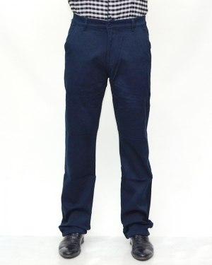 Джинсы мужские 839 синие теплые 90735