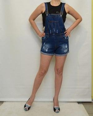 Шорты женские HT синие 532