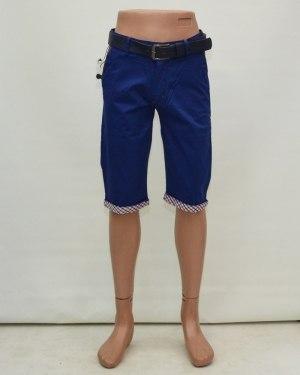 Шорты мужские CATENVIN синие с ремнем 1038-43
