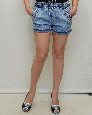 Шорты женские MISS RS голубые 2522