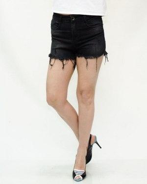 Шорты женские WOOX черные 3002
