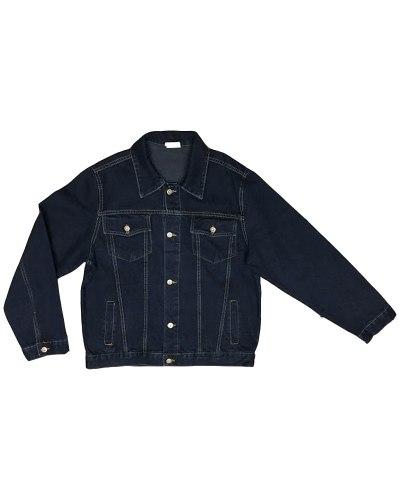 Пиджак джинсовый мужской NEW JARSIN темно-синий 981