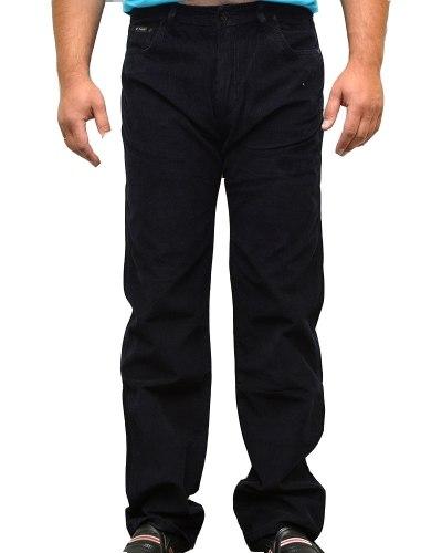 Джинсы мужские DECANT синие микровельвет