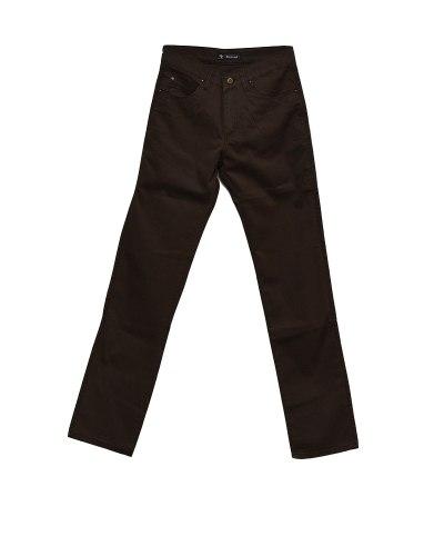 Джинсы мужские DECANT коричневые облегченные