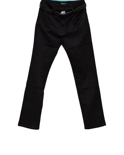 Джинсы женские VANVER черные стрейч с ремнем 8715
