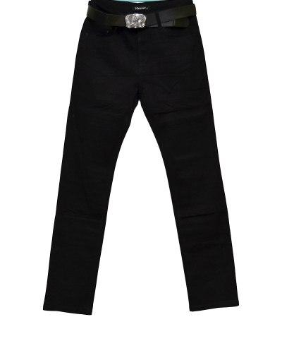 Джинсы женские VANVER черные с ремнем 8720