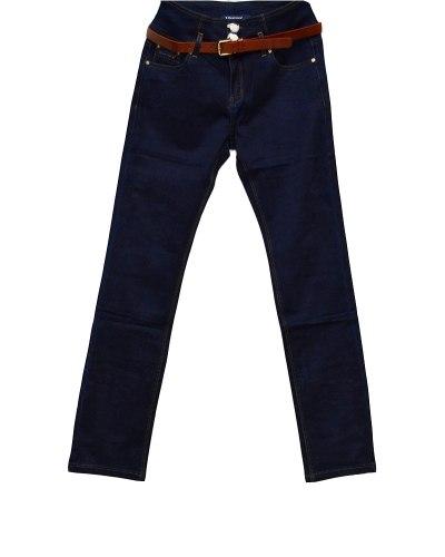 Джинсы женские VANVER синие с ремнем 8610
