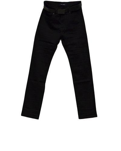 Джинсы женские VANVER черные с ремнем 8753