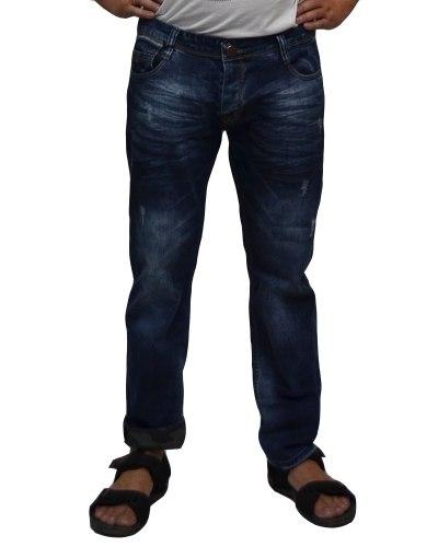 Джинсы мужские MARIO синие стрейч 2373