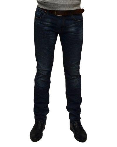 Джинсы мужские RITTER синие с ремнем 022