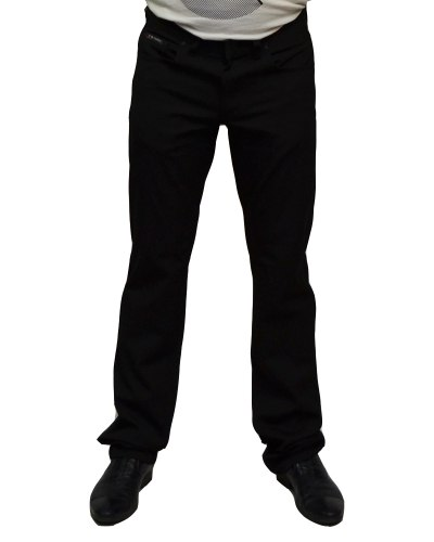 Джинсы мужские BIG COWERS черные стрейч лайкра