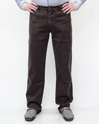 Джинсы мужские 839 коричневые 029-17-12