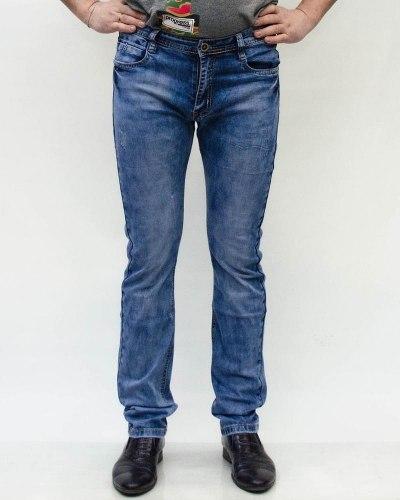 Джинсы мужские AWIVGOSS голубые 8102