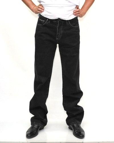 Джинсы мужские DECANT черные стрейч